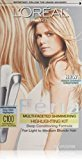 L'Oreal Feria Multi-Faceted Shimmering Highlighting Kit, Extremely Light Blonde [C100] 1 ea (Pack of 12)