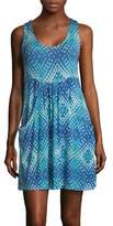 J Valdi Printed Sleeveless Dress