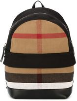 Burberry Nova Check backpack - kids - Jute/Leather - One Size
