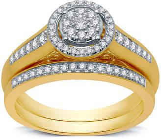 I Said Yes Womens 3/8 CT. T.W. Genuine White Diamond Engagement Ring