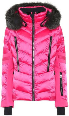 Toni Sailer Nele Splendid fur-trimmed ski jacket