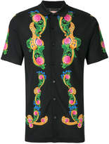 Versace Beverly Palm print shirt