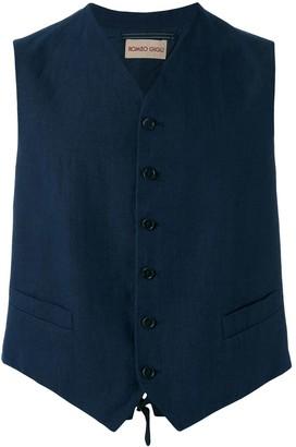 Romeo Gigli Pre-Owned classic waistcoat