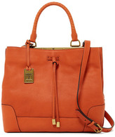 Frye Fay Drawstring Leather Tote
