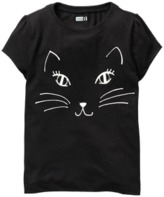 Crazy 8 Glow In The Dark Cat Tee