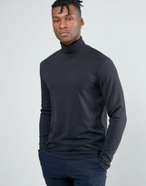 Selected Longsleeve Roll Neck Top