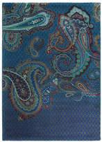Ted Baker Paisgeo Rug - Blue - 140x200cm