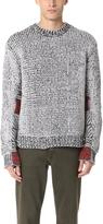 3.1 Phillip Lim Fair Isle Jacquard Crew Sweater