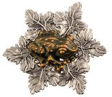 Stephen Dweck Two-Tone Toad Dress Clip
