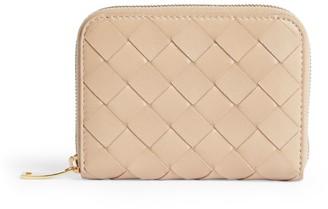 Bottega Veneta Small Leather Intrecciato Continental Wallet