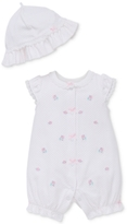 Little Me 2-Pc. Hat & Romper Set, Baby Girls (0-24 months)