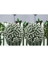 Streetwize Floral Hanging Bay Balls White
