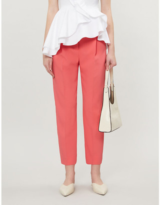 See by Chloe Slim cropped crepe trousers