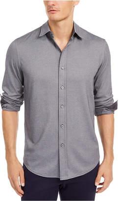Tasso Elba Men Supima Cotton Birdseye-Knit Shirt