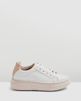Topshop Canada Lace-Up Sneakers