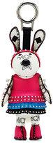MCM Disco Bunny Key Ring Charm, White