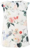 **Billie & Blossom All Over Floral Shell Top
