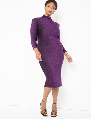 ELOQUII Turtleneck Bodycon Dress