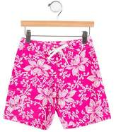 Papo d'Anjo Boys' Printed Swim Trunks w/ Tags