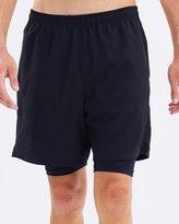 2XU MCS Football Compression 1/2 Shorts