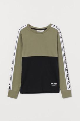 H&M Color-block Jersey Shirt