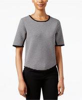 Rachel Roy Short-Sleeve Striped Top