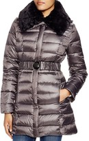 Dawn Levy 2 Gabby Quilted Coat with Faux Fur