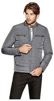 GUESS Men's Grelin Moto Jacket