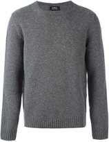 A.P.C. crew neck jumper - men - Polyamide/Wool - XL