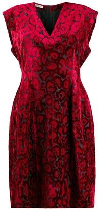 Prada Pre-Owned 2000's Leopard Pattern Dress