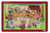 Crocodile Creek Knights Castle Placemat (2823-6) by