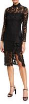 Bardot Priscilla Lace Illusion Dress
