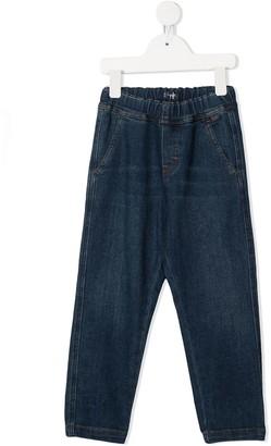 Il Gufo Straight Denim Trousers