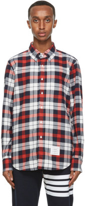 Thom Browne Multicolor Flannel Shirt