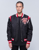 Moschino Mirror Bomber Jacket
