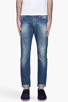 Paul Smith Faded indigo selvage jeans