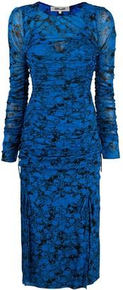Diane von Furstenberg Corinne mesh midi dress