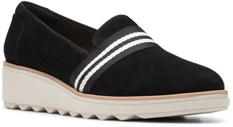 Clarks Sharon Bay Slip-On Wedge
