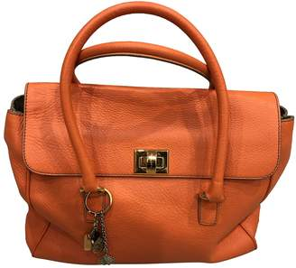 Dolce & Gabbana Orange Leather Handbags