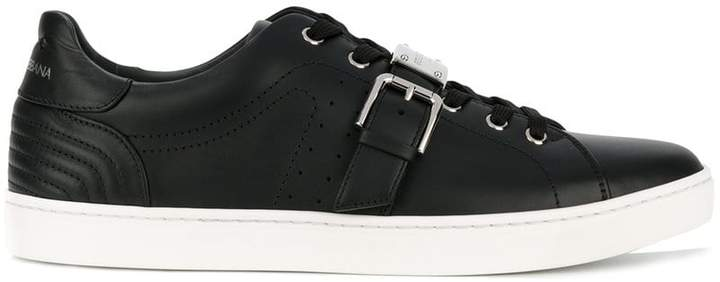 Dolce & Gabbana buckled low top sneakers