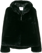 Dondup zipped faux fur jacket