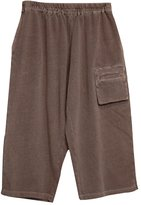 Minibee Women's Casual Drawstring Loose Fit Wide Leg Pants Style2 Coffee
