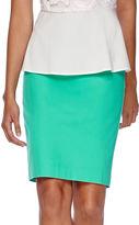 Liz Claiborne Pique Pencil Skirt - Tall