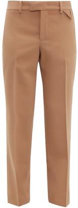 Bottega Veneta Tailored Wool Straight-leg Trousers - Camel