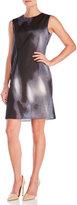 Marni Printed Sleeveless Cotton Dress