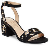 Nanette By Nanette Lepore Ruby Embroidered Sandals