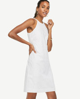 Ann Taylor Lace Halter Dress