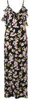 Marni floral print silk long dress - women - Silk - 44