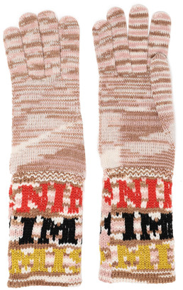 Missoni Intarsia-knit Gloves