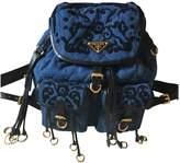 Prada Blue Denim - Jeans Backpacks